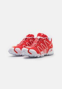 Salomon - SPEEDCROSS 3 UNISEX - Sneakers basse - racing red/white - 1