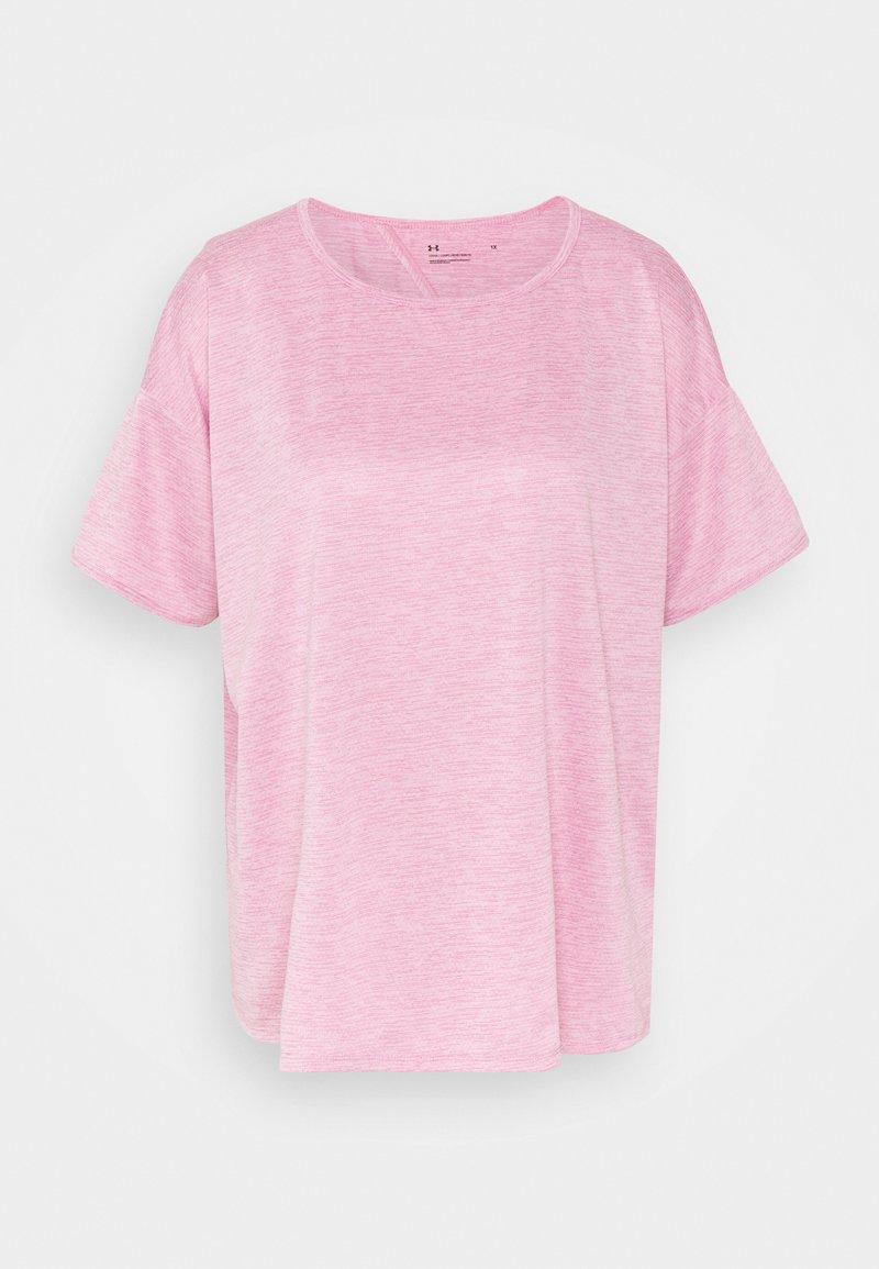 Under Armour - TECH VENT  - T-shirts - planet pink