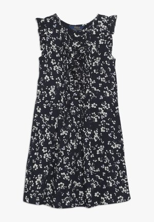 FLORAL PINTU DRESSES - Day dress - dark blue