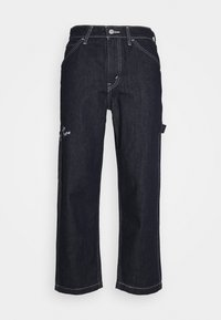 Levi's® - TAPER CARPENTER CROP - Jeans a sigaretta - dark indigo - 0