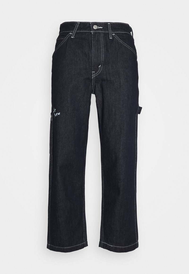 Levi's® - TAPER CARPENTER CROP - Jeans a sigaretta - dark indigo