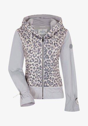 Zip-up hoodie - taupe