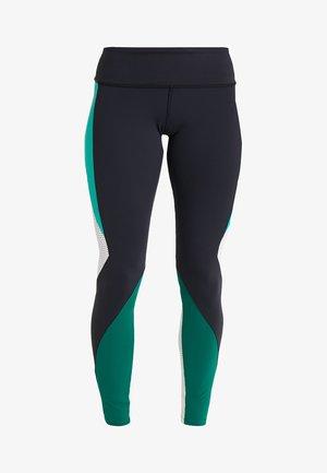 LUX - Leggings - black/green