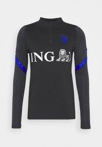 Nike Performance - NIEDERLANDE DRY  - Funktionströja - black/bright blue - 4