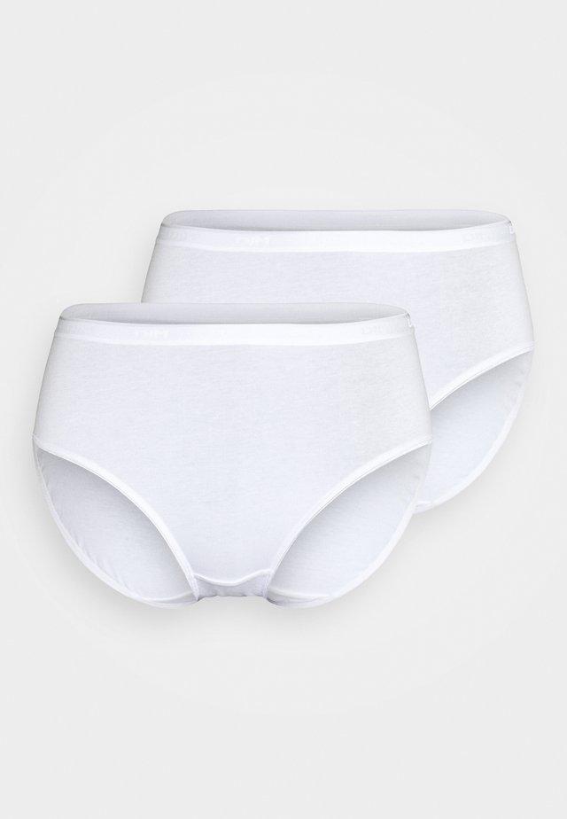 STRECH MAXI 2 PACK - Kalhotky - white