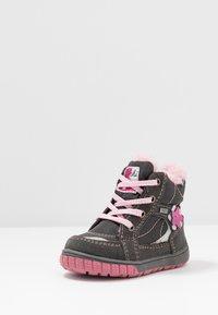 Lurchi - JONA-TEX - Šněrovací kotníkové boty - grey - 2