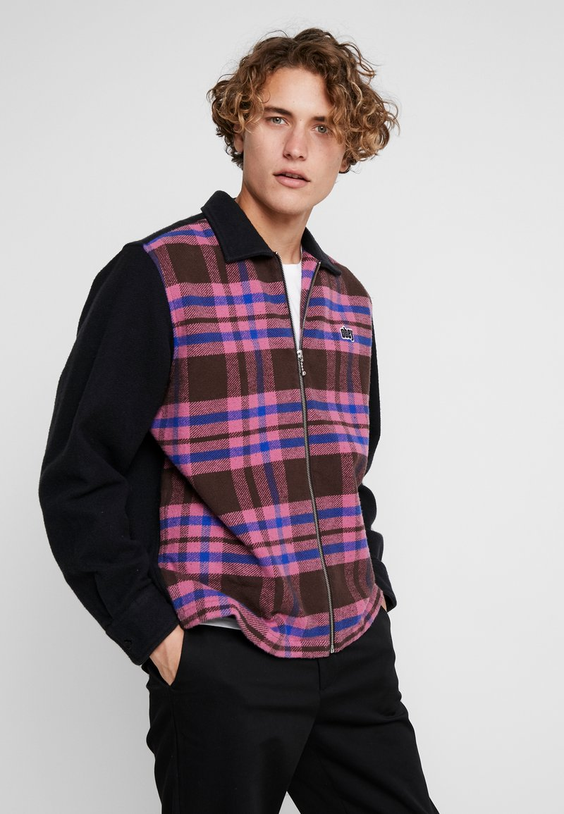 Obey Clothing - ZIP - Shirt - brown/multi