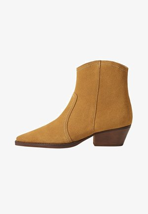 CRUCE - Ankle boots - sandfarben