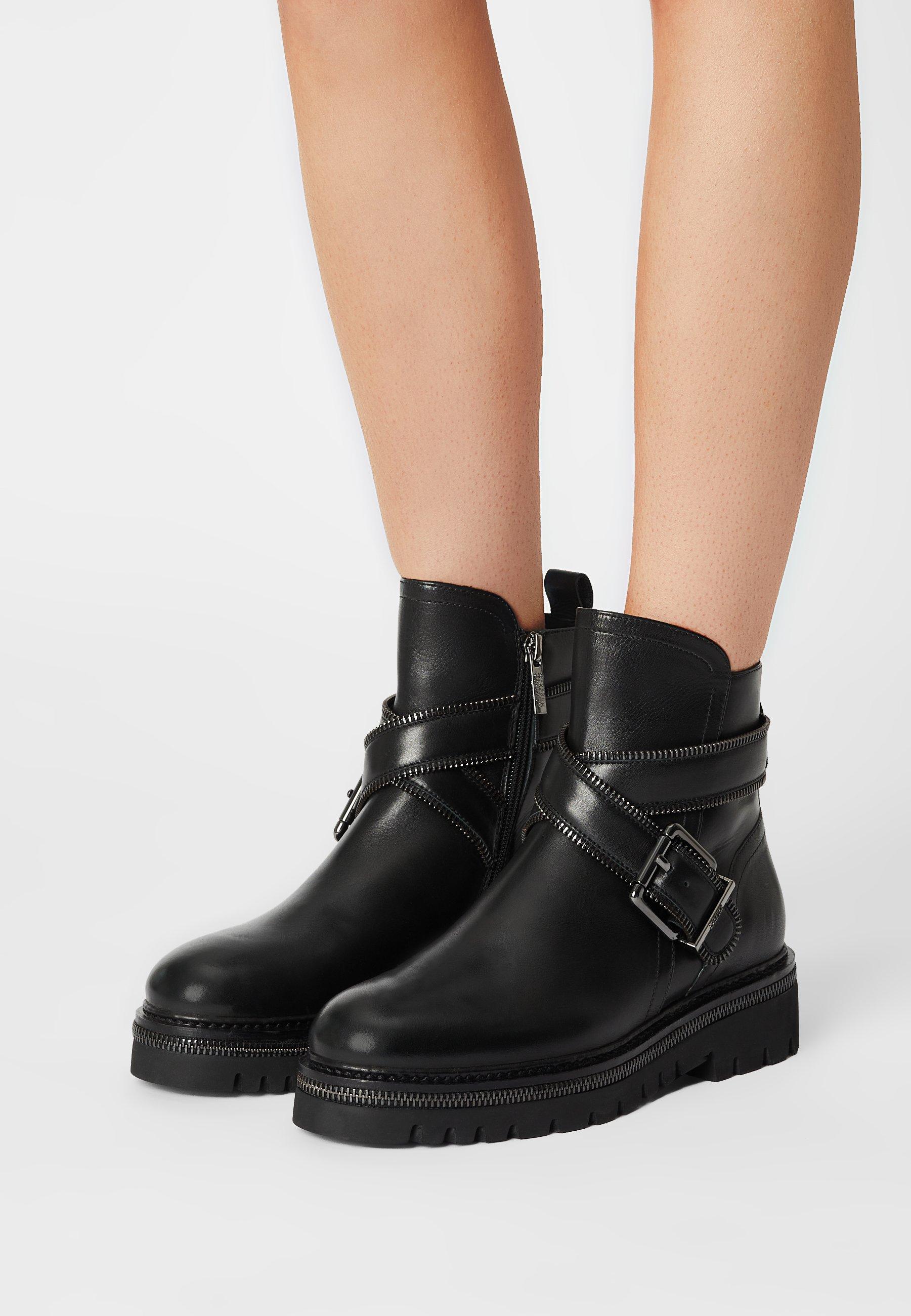 Women ZIP STREET - Cowboy/biker ankle boot