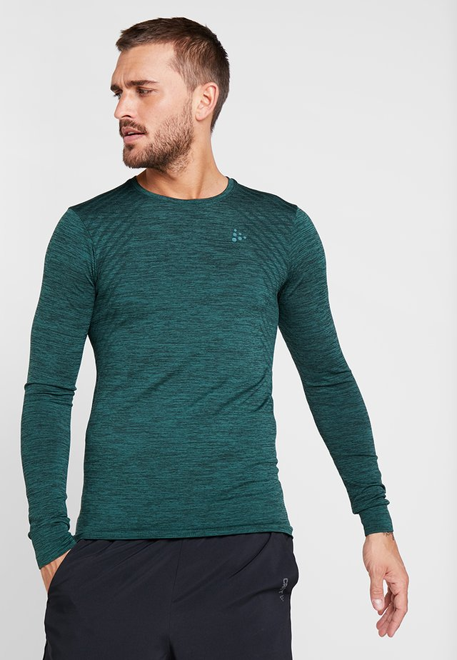 COMFORT - Sports shirt - pine melange