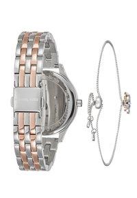 Michael Kors - LEXINGTON SET - Watch - silver-coloured/rose gold-coloured - 2