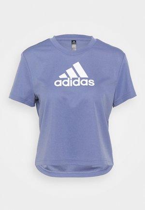 Camiseta estampada - orbit violet/white
