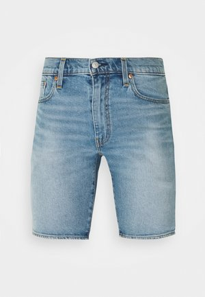 412™ SLIM SHORT - Džínové kraťasy - light-blue denim
