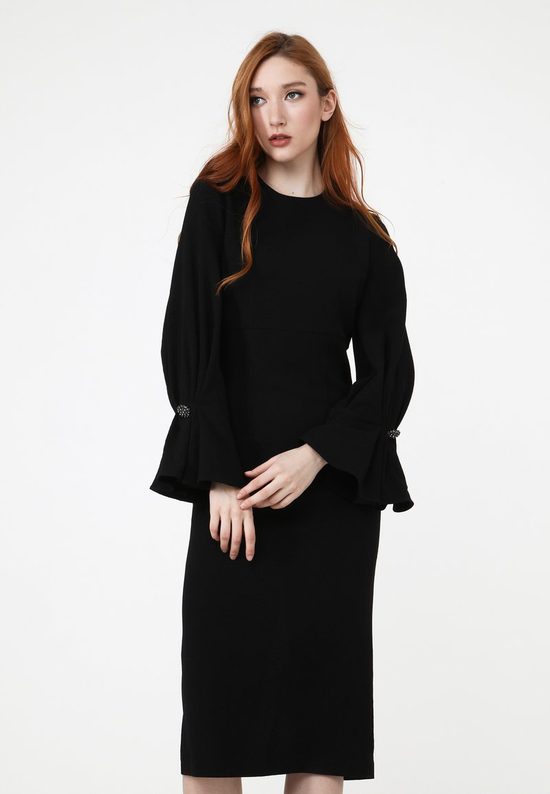 Madam-T - KAZIMIRA - Shift dress - schwarz