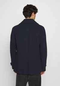 Selected Homme - SLHSUSTAINABLE ICONICS PEACOAT  - Classic coat - sky captain - 2