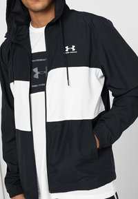 Under Armour - Training jacket - black/onyx white - 6