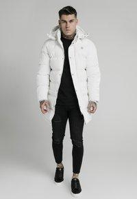 SIKSILK - Winter coat - white - 1
