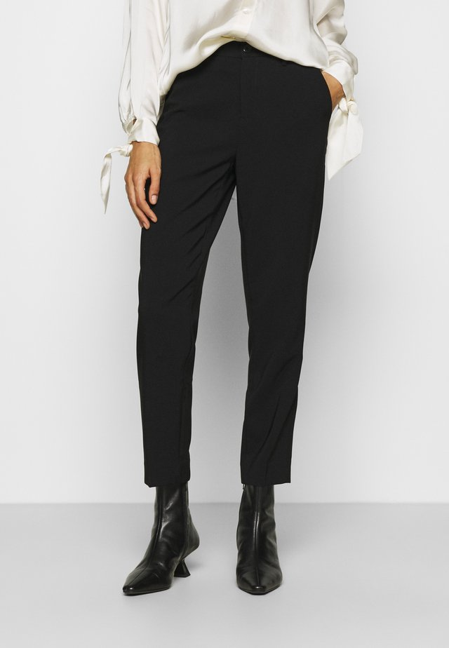 BASIC BUSSINESS PANTS  - Trousers - black