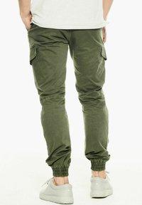 Garcia - Cargo trousers - deep army - 2