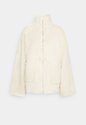 POCKET JACKET - Winter jacket - creme