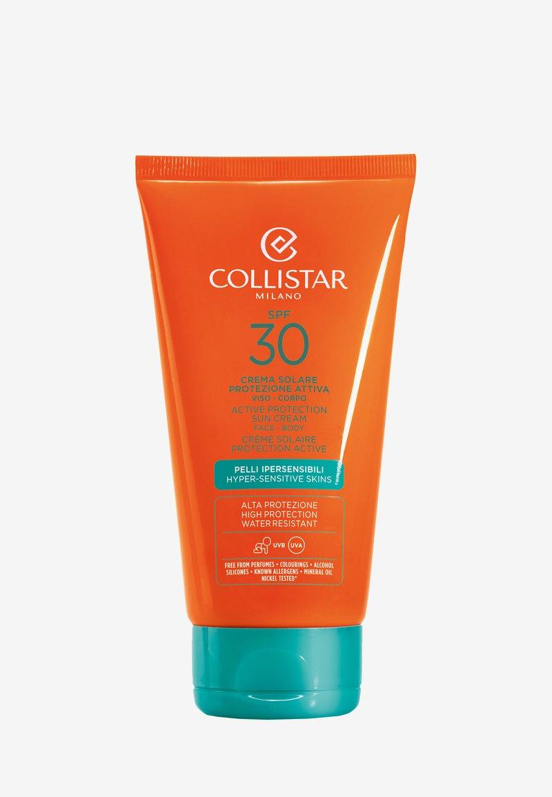 Collistar - ACTIVE PROTECTION SUN CREAM FACE-BODY SPF 30 - Sun protection - -