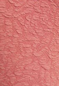 Pieces Petite - PCGRACELIA WRAP - Long sleeved top - canyon rose - 2