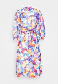 Closet - PLEATED SLEEVE A LINE DRESS - Kjole - blue - 4