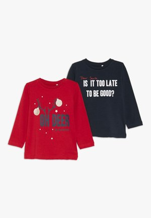 NBNRIJUL 2 PACK - T-shirt à manches longues - jester red