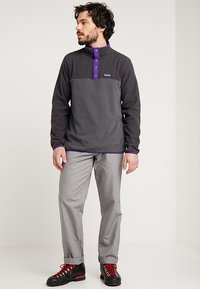 Patagonia - MICRO SNAP - Fleece jumper - forge grey - 1