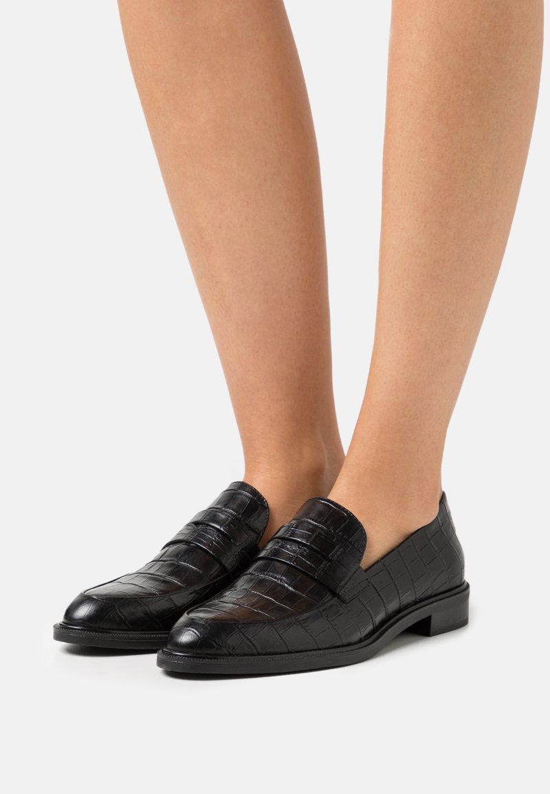 Vagabond - FRANCES - Nazouvací boty - black