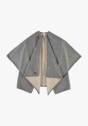 RUANA  - Cape - light grey