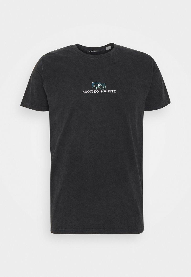 Kaotiko - T-shirt med print - black