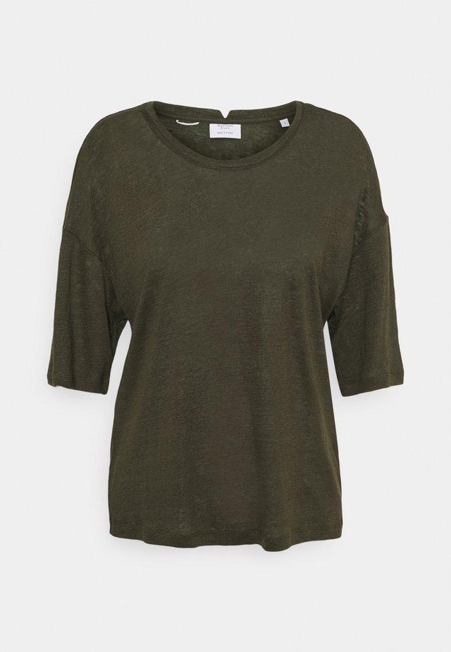 BOXY WIDE SLEEVES - T-shirt basic - olive