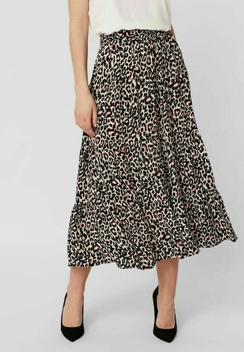 A-line skirt - oatmeal
