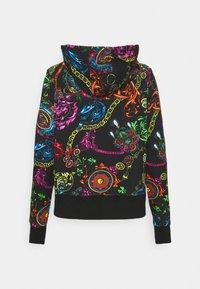 Versace Jeans Couture - Zip-up sweatshirt - black/multi - 11