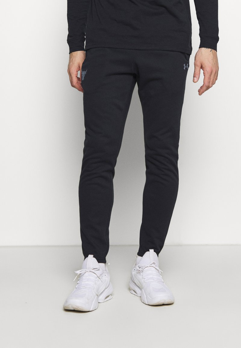 Under Armour - PROJECT ROCK PANTS - Spodnie treningowe - black