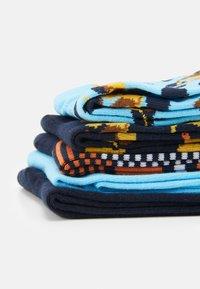 Jack & Jones - JACLION SOCK 5 PACK - Socks - navy blazer/navy blazer/baltic se - 2