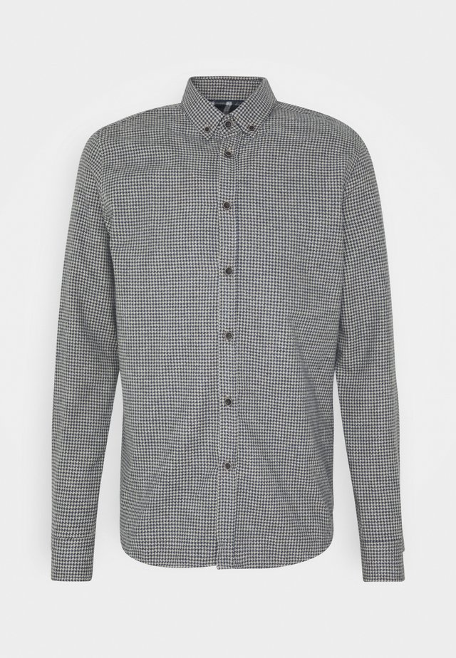 JOHAN BRUSHED - Camisa - navy