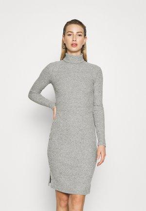 Shift dress - mottled grey