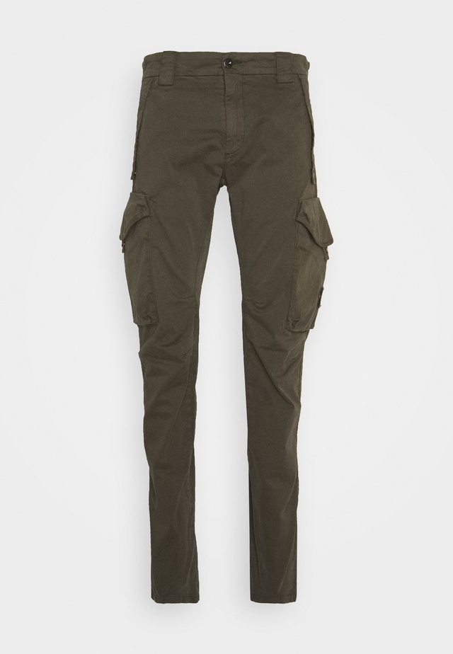 Cargo trousers - ivy green