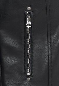Pepe Jeans - FLORES - Faux leather jacket - black - 6