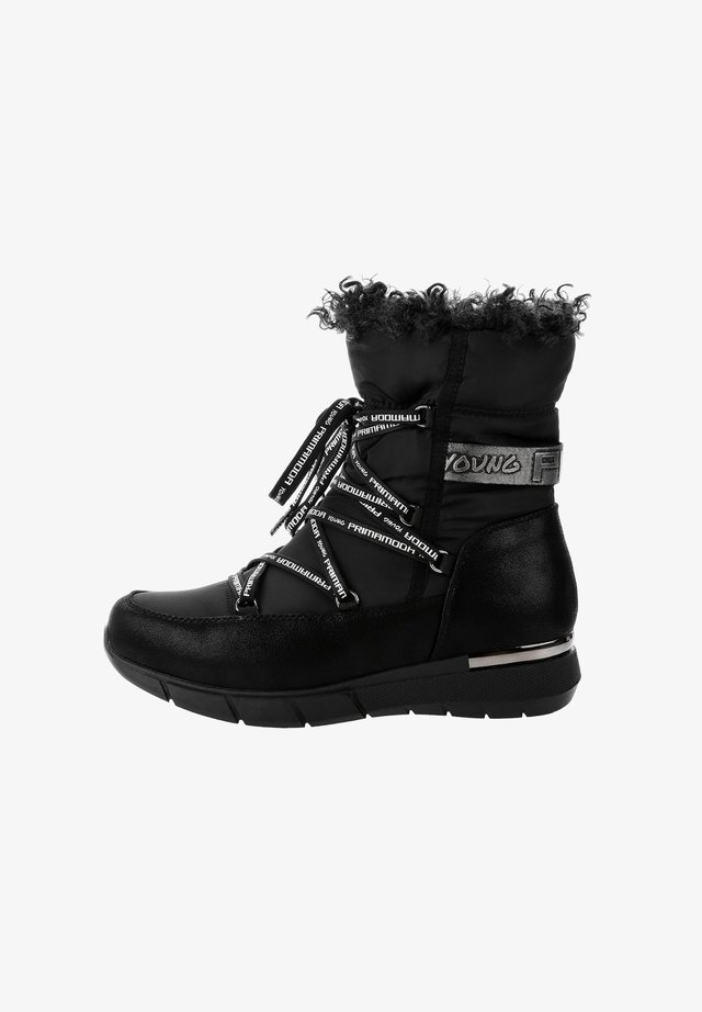 RAIU - Lace-up ankle boots - black