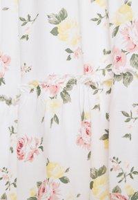 Hollister Co. - BARE FEMME SHORT DRESS - Day dress - white - 5
