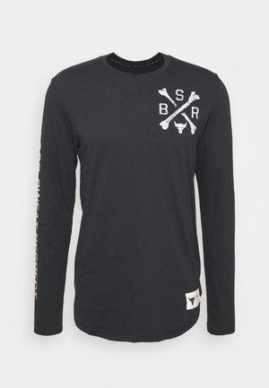 PROJECT ROCK - Langærmede T-shirts - black