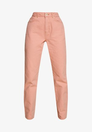 NMISABEL MOM - Relaxed fit jeans - silver pink