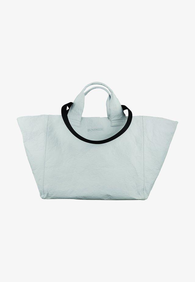 SERFAUS - Shopping bag - white