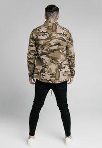 SIKSILK - UTILITY SHIRT JACKET - Summer jacket - khaki - 2