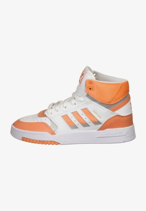 DROP STEP SHOES - Baskets montantes - ftwr white/amber tint