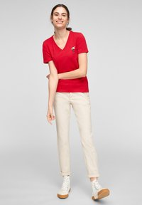 s.Oliver - Print T-shirt - red - 1