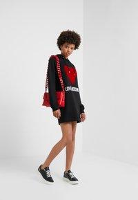 Love Moschino - DRESS - Day dress - black - 1
